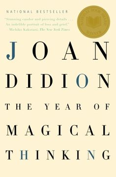 A few weeks ago I did a review a memoir by Neil Patrick harris, so I thought I would talk about my all time favorite memoir. The Year of Magical Thinking by Joan Didion. In college I took a Death a...