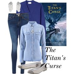 """The Titan's Curse"" by venturajai-1 on Polyvore"