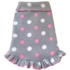 Dog Hoodie, Dog Shirt, Puppy Crafts, Dog Clothes Patterns, Dog Jacket, Dog Sweaters, Dog Dresses, Dog Coats, Pink Polka Dots