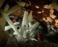 The Cave of the Crystals holds some of the largest crystals ever found. Photo by topDreamer