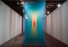 Though we can appreciate Gabriel Dawe's beautiful thread art by just looking at these pictures, we're certain that these photos will never quite do them justice. In fact, we can imagine ourselves walking around these rainbow prisms and just getting lost. I asked Dawe to tell us what he hoped others got out of his …