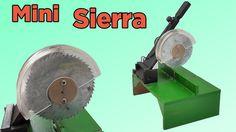 Cómo Hacer una Mini Sierra de Mesa Casera (Muy fácil de hacer)