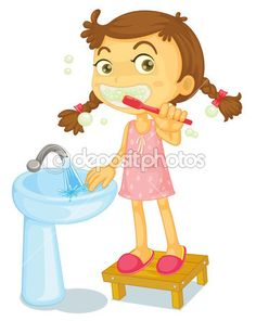How to brush your teeth the right way! How to brush your teeth the right way! Brush Teeth Clipart, Image Clipart, School Clipart, Clip Art, Personal Hygiene, Clips, Dental Health, Health Care, Cartoon Images