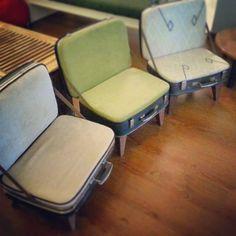 overview luggage chairs upcycling ideen koffer wohnen zuruckgewonnene mobel recycelte