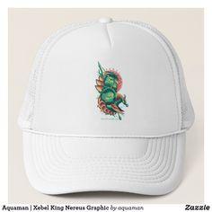 d2674103 Aquaman | Xebel King Nereus Graphic Trucker Hat Aquaman, Baseball Hats,  Baseball Caps,