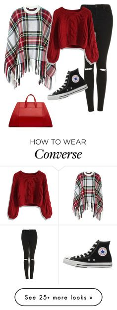 """""""Untitled #2426"""" by samanthay7 on Polyvore featuring Topshop, Chloé, Chicwish and Converse"""