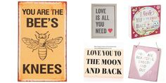 Valentine's Day gifts www.beehappyhome.co.uk