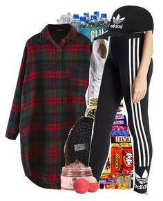 """""""I Know You Hate To Confess"""" by denise-loveable-bray ❤ liked on Polyvore featuring Tiffany & Co., Converse, Rolex, adidas Originals and Eos"""