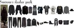 Sorcerer's starter pack. Strega Forest. http://stregalookbook.tumblr.com/post/133145006937/sorcerers-starter-pack #want