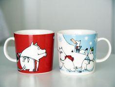 Moomin mugs for the kids