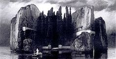 Arnold Böcklin - Die Toteninsel - Version 4  - Het dodeneiland (Böcklin) - Wikipedia