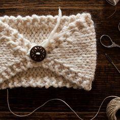 FREE Headband Knitting Pattern : Perfectly Imperfect : Brome Fields
