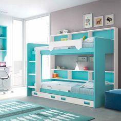 ΠΑΙΔΙΚΑ ΈΠΙΠΛΑ->Παιδικές κουκέτες->Κουκέτα camas B4 - www.petitemaison.gr