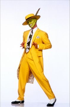 A gallery of The Mask publicity stills and other photos. Featuring Jim Carrey, Cameron Diaz, Peter Greene, Peter Riegert and others. Iconic Movie Characters, Movie Character Costumes, Iconic Movies, Movie Costumes, Halloween Costumes, Halloween 2016, La Mascara Jim Carrey, Jim Carrey The Mask, O Maskara
