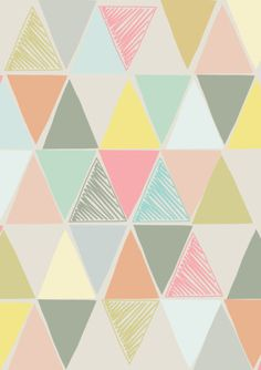 Art Patterns & Prints | Triangles