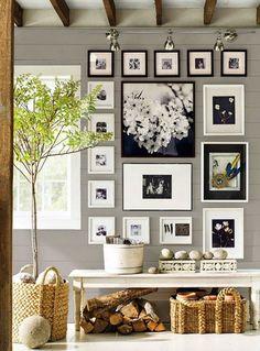 Vintage & Chic · Blog decoración. Vintage. DIY. Ideas para decorar tu casa: 10 entradas decoradas en gris (y un antes/después increíble) · 10 grey foyers/entrance halls (plus a great makeover)