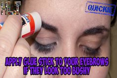 We think this is the most bizarre life hack EVER!   Have you tried it before? Will you be crazy enough to try it?  http://hacklife.today/do-you-have-bushy-eyebrows/