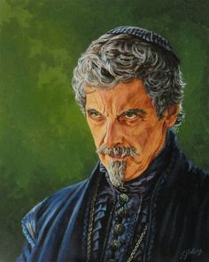 Peter Capaldi as Cardinal Richelieu from The by PentacleArts
