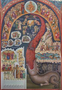 Η Δευτέρα Παρουσία (Νάρθηκας Μονής Αγίου Στεφάνου Μετεώρων)