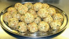 "These dumplings, also known as Semmelklöße, come from Bavaria. ""Semmeln"" is the German word for dinner rolls. Serve these dumplings as a side with roasts or pork chops and a sauce. Bread Dumplings Recipes, Dumpling Recipe, Austrian Recipes, Hungarian Recipes, German Recipes, German Noodles, Sauerbraten Recipe, Spaetzle Recipe, Meat Recipes"