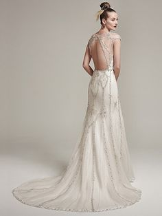 Syanne Wedding Dress by Sottero and Midgley|Back