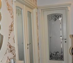 Sticla sablata, model clasic | Vitralii Decorative