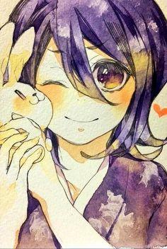 Rukia - Bleach omg this is adorable Bleach Anime, Rukia Bleach, Ichigo X Rukia, Bleach Fanart, Shinigami, Vocaloid, Studio Ghibli Wallpaper, Manga Anime, Bleach Couples