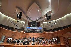 via Jiangsu China ( China Architecture, Nanjing, Shanghai, Theater, Theatres, Teatro, Drama Theater