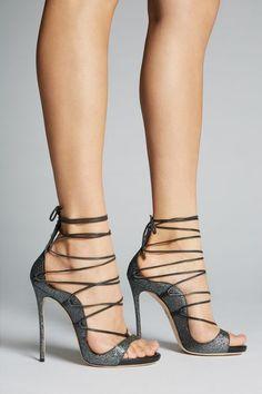 c71a1eae Zapatos para mujer de Dsquared2: tacones, zapatillas, planos Primavera  Verano | Tienda oficial