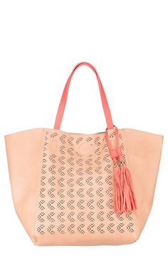 Urban Originals 'Admire' Perforated Faux Leather Tote