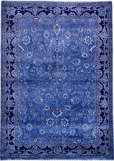Blue Kashkuli Gabbeh Area Rug