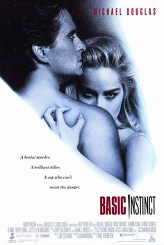 """Basic Instinct, not actually a """"horror"""" movie but still works"""
