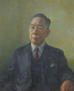 Takase Sotaro by Wada Eisaku (Hitotsubashi University) - 和田英作 - Wikipedia Painting, Painting Art, Paintings, Painted Canvas, Drawings