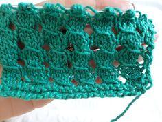 marizamiziara: Furinhos de Pontos Rematados em tricô