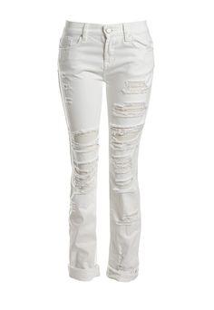 Blank NYC distressed Boyfriend jeans | Sans Souci Stores