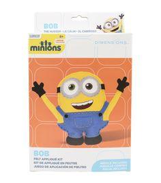 Dimensions® Stuffable Felt Applique Kit-Minion Bob