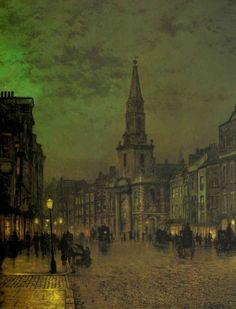 London by gaslight.