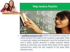 What Are The Qualities Of Yelp Jessica Psychic As Good Math