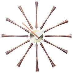 Spindle Clock by Vitra at Lumens.com