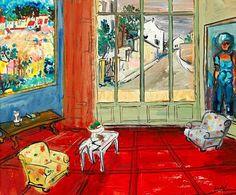 Carlos Nadal The Red Salon 1972