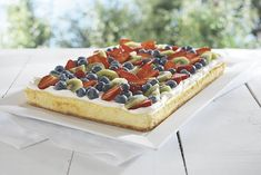 Fruity Cheesecake Recipe on Yummly. @yummly #recipe