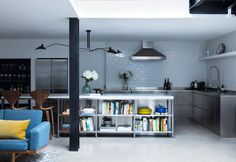 stile-industriale-open-space-casa-londra-kitchen-dining