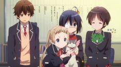 ChuunibyouDemoKoigaShitai-03-Large26 Koi, Rikka And Yuuta, Kokoro Connect, Supernatural Theme, Baka To Test, Skip Beat, Kawaii Room, Manga, Anime Shows