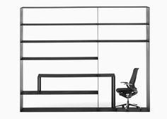 Nendo reconfigures office furniture elements into hybrid designs for Kokuyo.