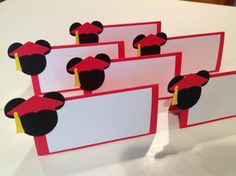 Items similar to 12 Mickey Mouse Graduate/Graduation Food Sign Tent Card / Labels Party on Etsy Disney Graduation Cap, Graduation Diy, Graduation Invitations, Party Invitations, Graduation Photos, Kindergarten Graduation Gift, Grad Parties, Disney Parties, Disney Frozen Birthday