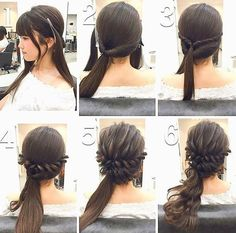 MENTŐÖTLET - kreáció, újrahasznosítás: Frizuravariációk hosszú hajból