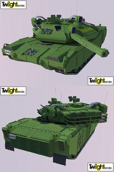 Main battle Heavy tank Render by MSgtHaas.deviantart.com on @deviantART