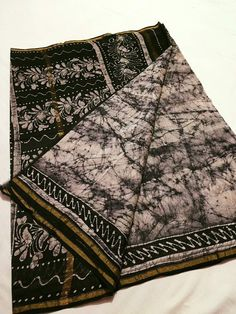 Chanderi cracks block print silk saree What's app;9703128275