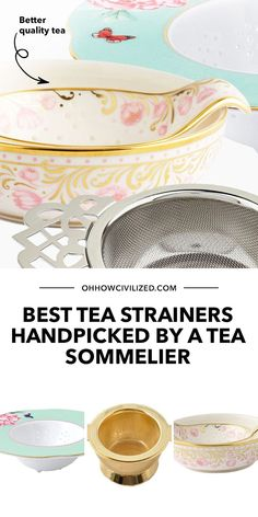 Better quality tea is made possible by a good tea strainer. Here's a list of quality options handpicked by me, a tea sommelier. Click to browse! Hot Tea Recipes, Perfect Cup Of Tea, Tea Sandwiches, Tea Strainer, Brewing Tea, Best Tea, How To Make Tea, Milk Tea, Afternoon Tea