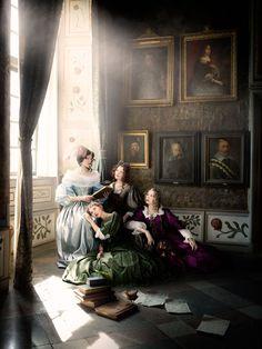 Alexia Sinclair's Dazzling Series Inside a 350-Year-Old Castle - My Modern Metropolis